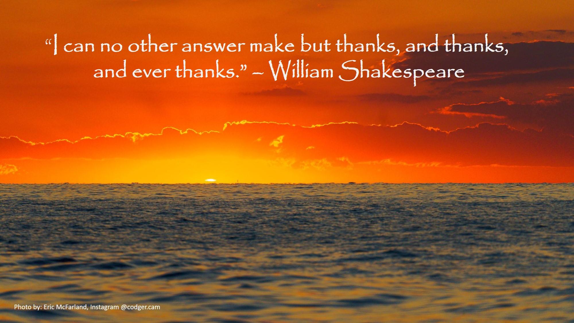 ERM Shakespeare